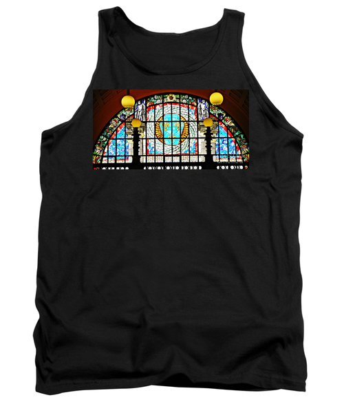 Casino Stained Glass Tank Top by Sarah Loft