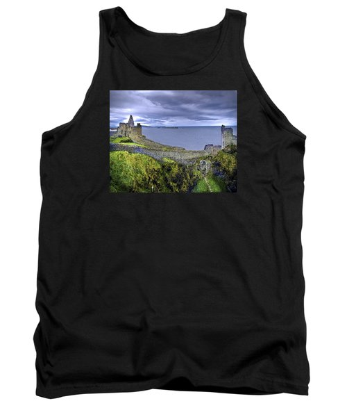 Castle By The Sea Tank Top