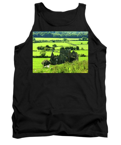 Castle Ruins Countryside Tank Top