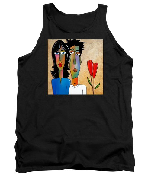 Casual Friday Tank Top by Tom Fedro - Fidostudio