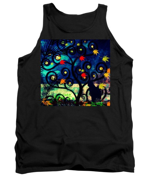 Cat Watch  Tank Top by Kim Prowse