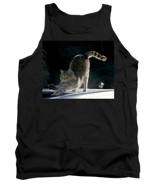 Cat Yoga Tank Top