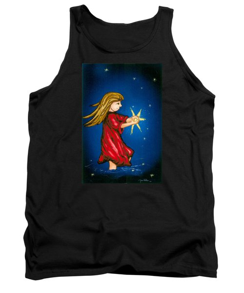 Catching Moonbeams Tank Top by Jana Nielsen