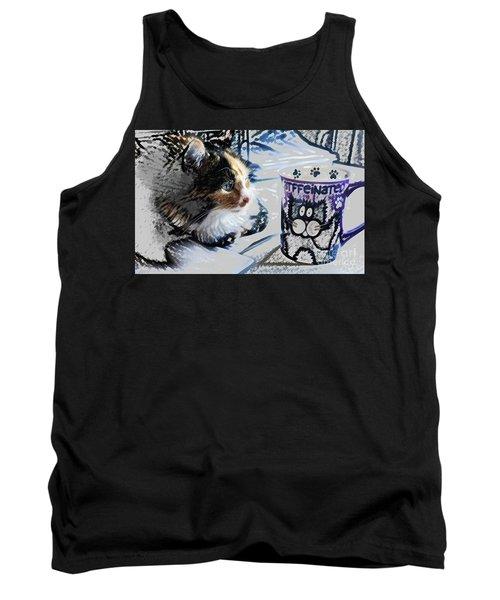 Catfinated Kitty Tank Top
