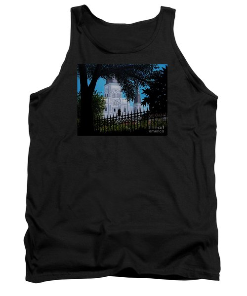 Cathedral At The Square Tank Top