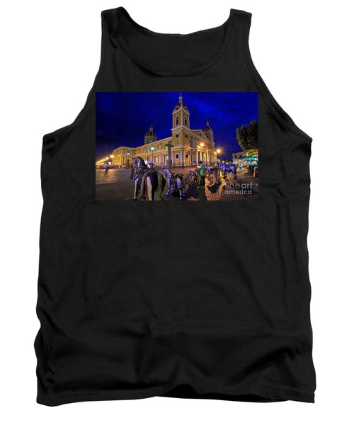 Cathedral Of Granada Shines Brightly Tank Top