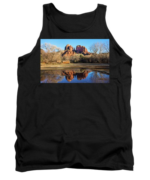 Tank Top featuring the photograph Cathedral Rock, Sedona by Barbara Manis