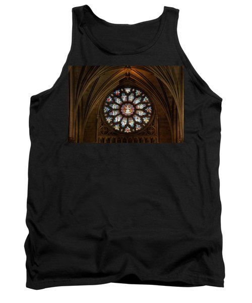 Cathedral Window Tank Top by Adrian Evans