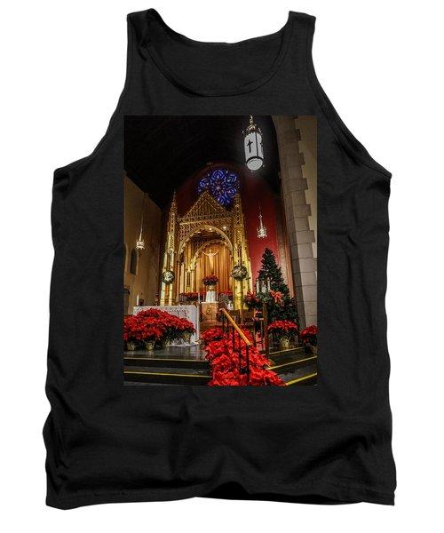 Catholic Christmas Tank Top