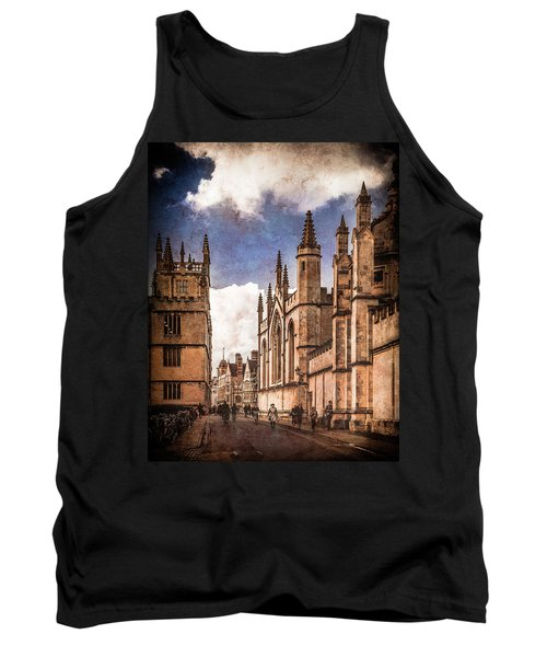 Oxford, England - Catte Street Tank Top