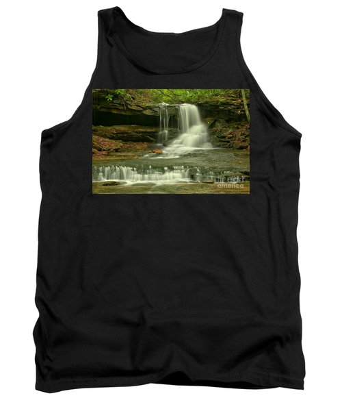 Cave Falls In The Laurel Highlands Tank Top