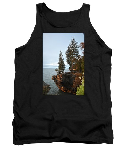 Cave Point Tank Top by Linda Goad