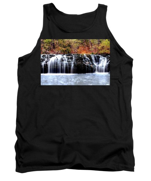 Cedar Creek Falls, Kansas Tank Top