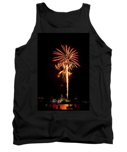 Celebration Fireworks Tank Top by Bill Barber