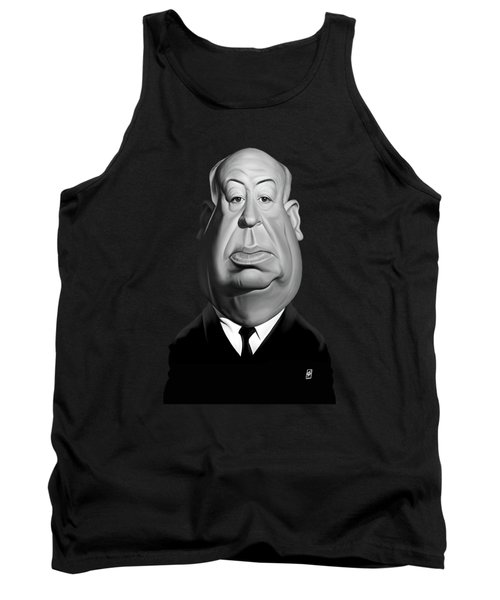 Celebrity Sunday - Alfred Hitchcock Tank Top