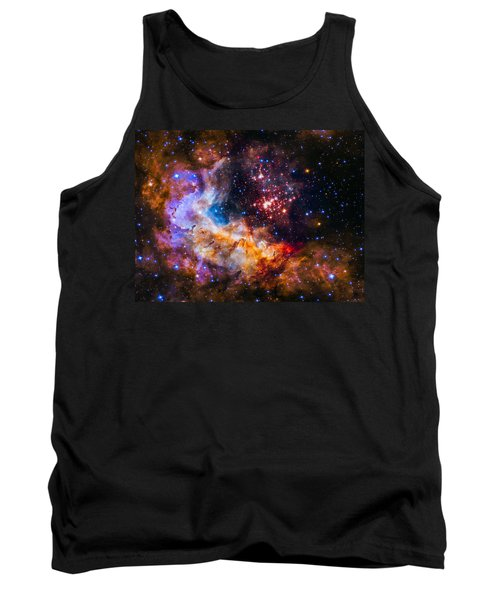 Celestial Fireworks Tank Top by Marco Oliveira