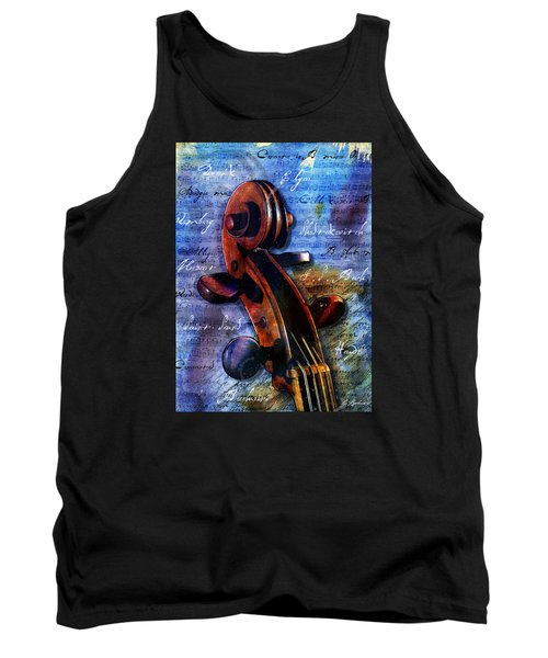 Cello Masters Tank Top by Gary Bodnar