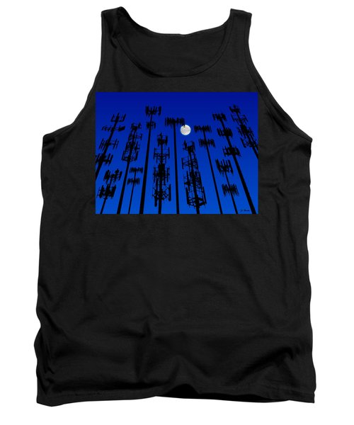 Cellphone Tower Forrest Tank Top