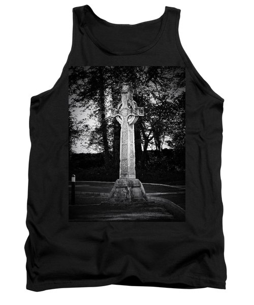 Celtic Cross In Killarney Ireland Tank Top
