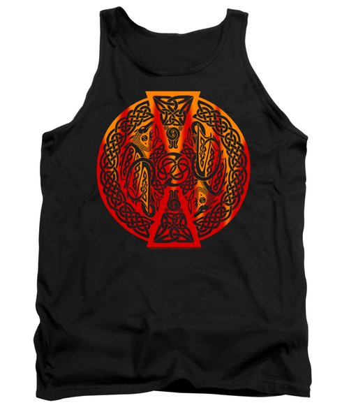 Celtic Dragons Fire Tank Top