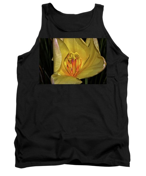 Centerpiece - Grand Opening Yellow Tulip 001 Tank Top