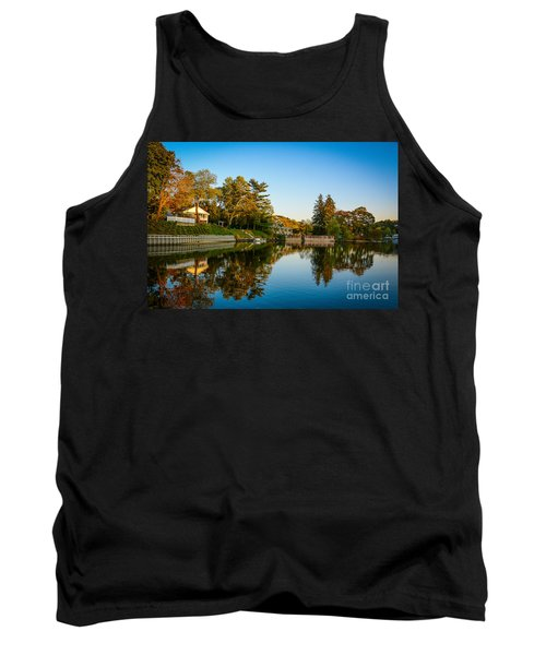 Centerport Harbor Autumn Colors Tank Top