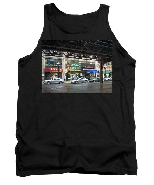 Central Camera On Wabash Ave  Tank Top