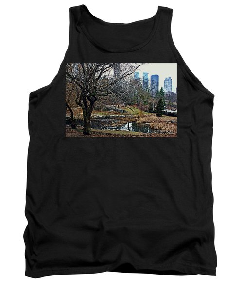 Central Park In January Tank Top