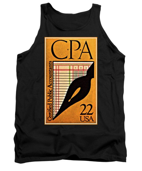 Certified Public Accounting Issue Tank Top