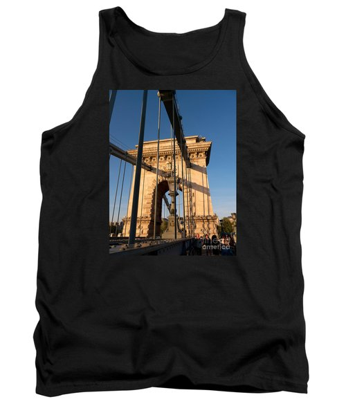 Chain Bridge Budapest  Tank Top