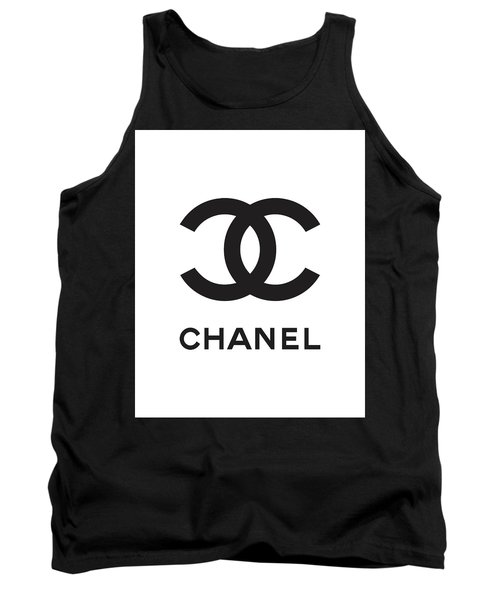 Chanel - Black And White 04 - Lifestyle And Fashion Tank Top