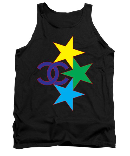 Chanel Stars-1 Tank Top