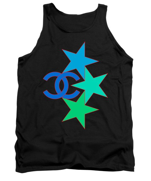 Chanel Stars-3 Tank Top