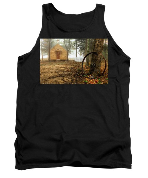Chapel In The Woods 1 Tank Top
