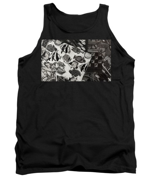 Charcoal Chaos Tank Top