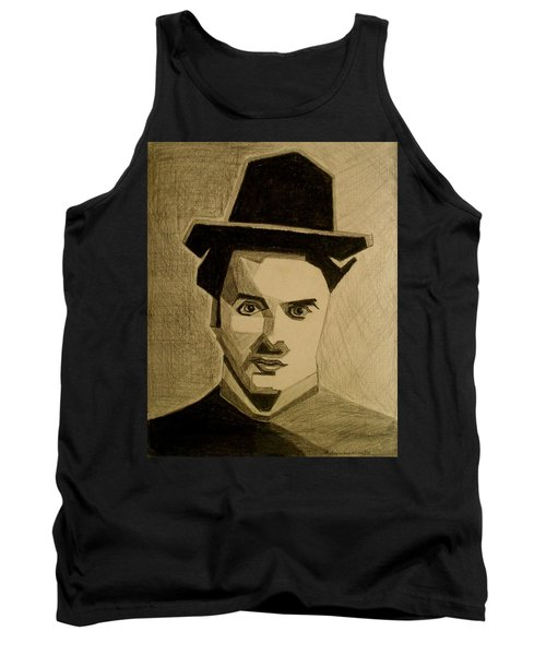 Charlie Chapplin Tank Top