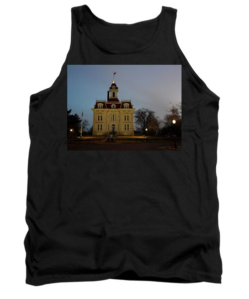 Chase County Courthouse Tank Top by Keith Stokes
