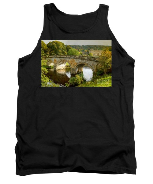 Chatsworth House And Bridge Tank Top
