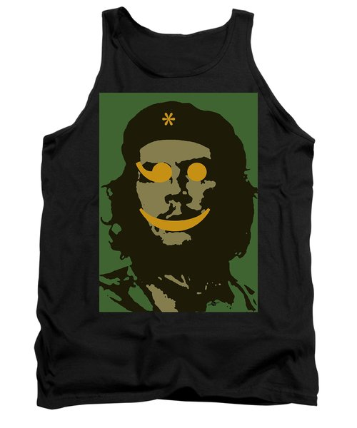 Che Guevara Emoticomunist 1 Tank Top