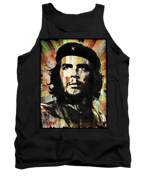 Che Guevara Revolution Gold Tank Top