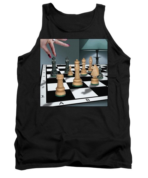 Checkmate Tank Top by Marty Garland