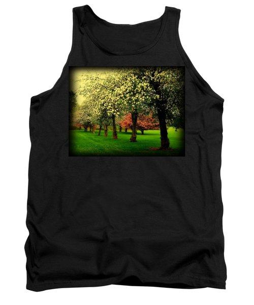 Cherry Blossom Trees Tank Top