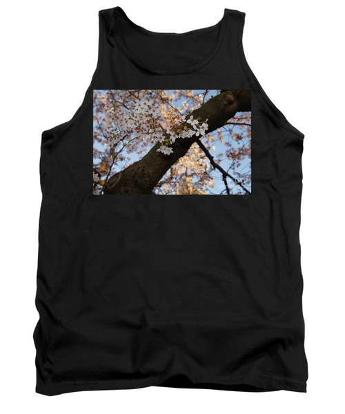 Cherry Blossoms Tank Top by Megan Cohen