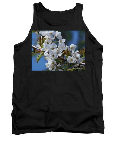 Tank Top featuring the photograph Cherry Blossoms by Victor K