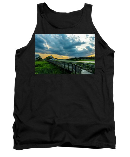 Cherry Grove Channel Marsh Tank Top