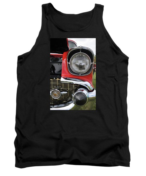 Tank Top featuring the photograph Chevy Bel Air by Glenn Gordon