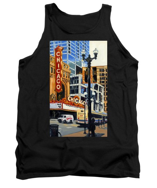 Chicago - The Chicago Theater Tank Top