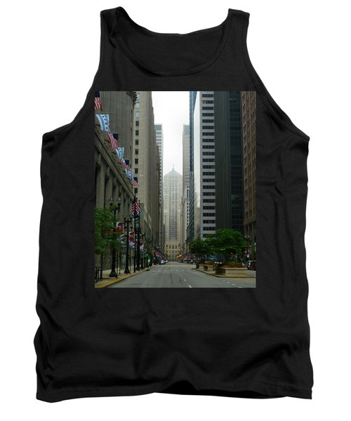 Chicago Architecture - 17 Tank Top by Ely Arsha
