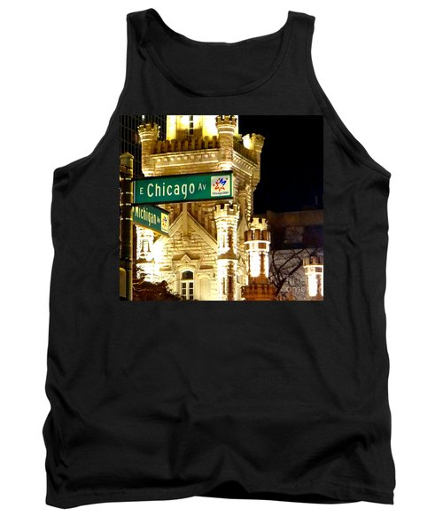 Chicago Avenue  Tank Top
