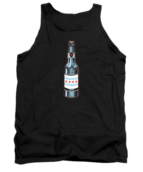 Chicago Beer Tank Top by Mike Lopez